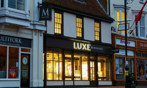 LUXE store in wakefield